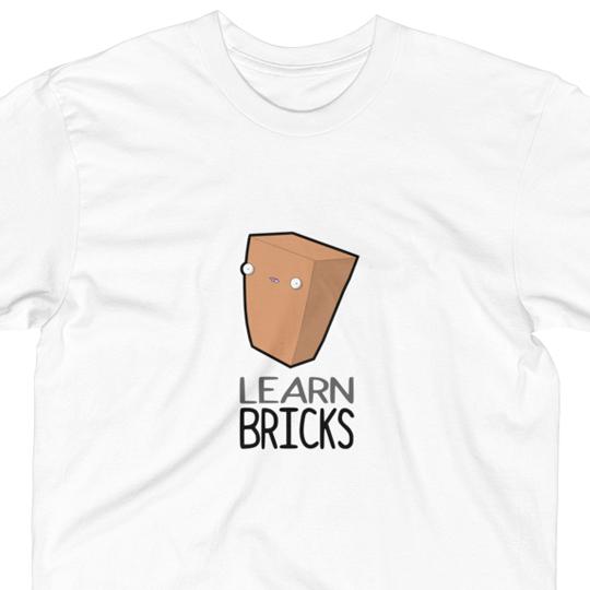 Learn bricks t-shirt