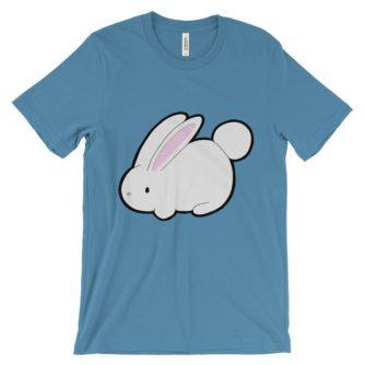 """Bunny"" Unisex short sleeve t-shirt"