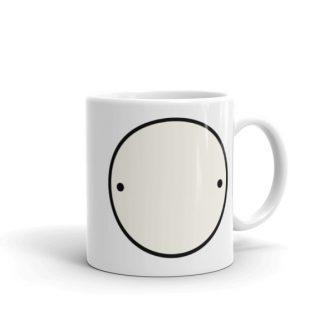 """""""Rupert"""" Left-handed Mug"""